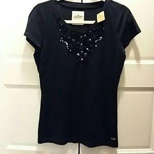 💎Hollister Embellished Shirt